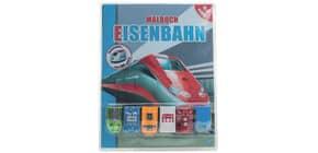 Malbuch Eisenbahn Produktbild