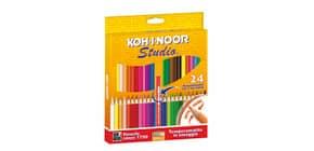 Astuccio matite colorate KOH-I-NOOR Legno 24pz - DH3325 Immagine del prodotto