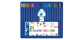 Farbstiftetui 24 Stück sortiert Produktbild