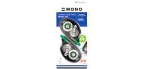 Correttore a nastro Tombow MONO Tape Control System 4,2 mm x 10 m blister 2 pz. - CT-YT4-2P Immagine del prodotto
