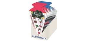 Schultüten-Kratzelbuch Funny Patches COPPENRATH 71446 pink+blau sort. Produktbild