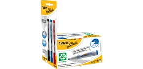 Marcatori lavagne bianche BIC Velleda ECOlutions 1701 punta conica nero -Promo pack 12 + 3 Liquid Ink Pocket - 942235 Immagine del prodotto