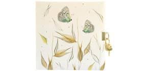 Tagebuch m.Schloss Tender Butterflies Produktbild