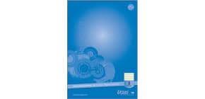 Arbeitsblock A4 50Bl Lin2 fbg. URSUS 040845002 Competence 90g Produktbild