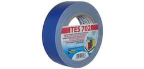 Nastro adesivo in tela Tes 702 SYROM formato 38mm x 25 m - materiale tela plastificata blu - 1753 Immagine del prodotto
