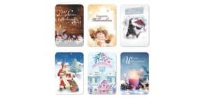 Weihnachtskarte Lichtergrüße sortiert 22-2807   Bild Produktbild