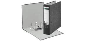 Ordner Pappe A4 8 cm schwarz Produktbild