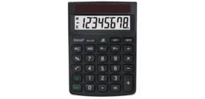 Tischrechner 8-stellig schwarz REBELL RE-ECO310BX Produktbild