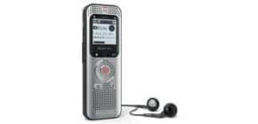 Registratore vocale digitale PHILIPS Voice Tracer 2050 argento DVT2050 Immagine del prodotto