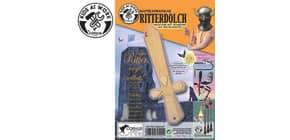 Bastelvorlage Ritter Dolch Produktbild