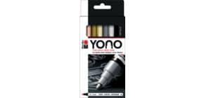 Kreativmarkerset YONO Metall sortiert Produktbild