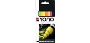 Kreativmarkerset YONO Neon sortiert Produktbild