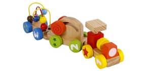 Geschicklichkeitsspiel Lernzug 610191 BIG TREE HS104 Holz Produktbild