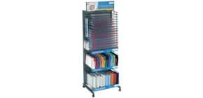 Verkaufsständer gefüllt mit Buchhüllen HERMA 66431 Hefthüllen gedeckt Produktbild