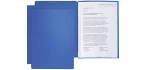 Präsentationsmappe 2tlg. blau Produktbild