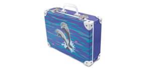 Handarbeitskoffer Happy Dolphins Produktbild