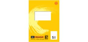 Oktavheft A6 32BL Lin51 lin. POWER PAPER 040994051 Produktbild