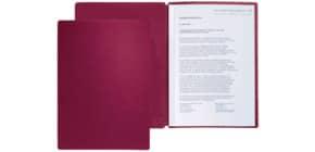 Präsentationsmappe 2tlg. rot Produktbild