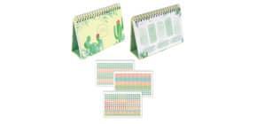 Tischkalender Minutes for me Kaktus Produktbild