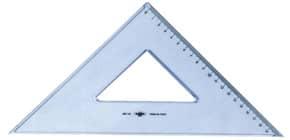 Squadra ARDA Linea Uni plastica termoresistente fumé ottico trasparente 45° cm 30 - 28730SS Immagine del prodotto