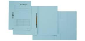 Combamappe A4 Karton blau Produktbild