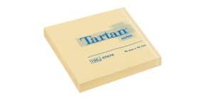 Foglietti riposizionabili Tartan™ Notes 100 ff 63 g/m² giallo 76x76 mm conf. da 12 blocchetti - 654 Yellow Immagine del prodotto