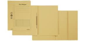 Combamappe A4 Karton gelb Produktbild