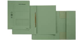 Combamappe A4 Karton grün Produktbild