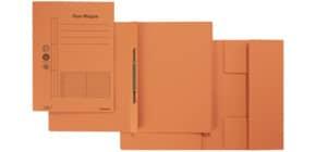 Combamappe A4 Karton orange Produktbild