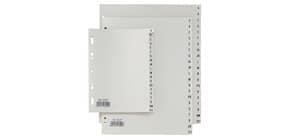 Separatori alfabetici in PP Sei Rota Record A-Z grigio A4 581401 Immagine del prodotto