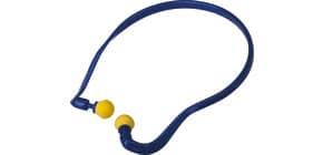 Coppia tappi auricolari Delta Plus in poliuretano con archetto blu-giallo - CONICMOVE01VE Immagine del prodotto
