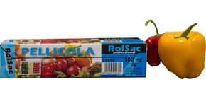 Rotolo pellicola per alimenti Rolsac Professional 300 m h 29 cm neutro trasparente - 37010 Immagine del prodotto