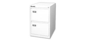 Classificatore per cartelle sospese KUBO 2 cassetti 46x62x70 cm bianco 4302 Immagine del prodotto