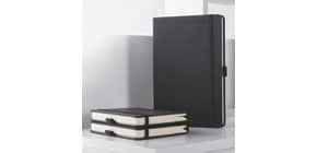 Notizbuch A4+liniert schwarz ProduktbildStammartikelabbildungM