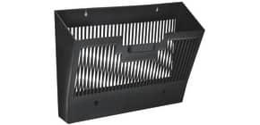 Wand-Prospekthalter 123 schwarz Produktbild