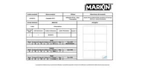 Etiform 240847 Kit Etichetta con Nastro