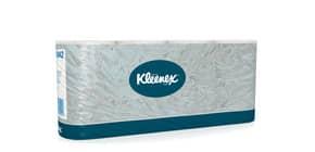 Carta igienica 2 veli KLEENEX® in carta a 2 veli 350 strappi bianco pacco da 8 rotoli - 8442 Immagine del prodotto