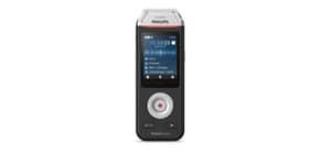 Registratore vocale digitale PHILIPS VoiceTracer 2110 nero DVT2110 Immagine del prodotto