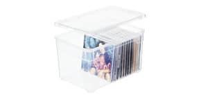 Contenitore Rotho Clear Box in PPL impilabile trasparente - 5 L 26x17,5x15 cm - F707802 Immagine del prodotto