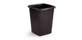 Abfallbehälter 90L schwarz Produktbild