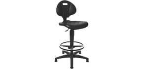 Drehstuhl + Fußring schwarz TEC20 bis 84cm TOPSTAR 72220PU0T Produktbild