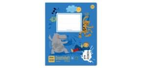 Creativheft Quart 20 Blatt blanko Produktbild