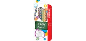 Matite colorate Stabilo EASYcolors per mancini assortiti astuccio da 6 - 331/6 Immagine del prodotto