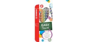 Matite colorate Stabilo EASYcolors per destrorsi assortiti astuccio da 6 - 332/6 Immagine del prodotto