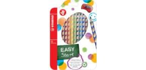 Matite colorate Stabilo EASYcolors per destrorsi assortiti astuccio da 12 - 332/12 Immagine del prodotto