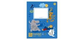 Creativheft Quart 20 Blatt lin+kar Produktbild