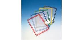 Buste per leggio Tarifold® T-Technic A4 assortiti - PVC bordo rinforzato Conf. 10 pezzi - 114009 Immagine del prodotto