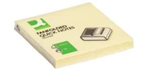 Foglietti riposizionabili a fisarmonica Q-Connect Z-Quick Notes 70 g/m² giallo 76x76 mm  12 bloc. da 100 ff - KF02161 Immagine del prodotto