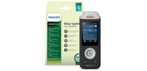 Registratore vocale digitale PHILIPS VoiceTracer 2810 nero/argento DVT2810 Immagine del prodotto