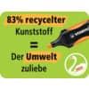 Textmarker Etui 4ST Green Boss ProduktbildPiktogramm 2S